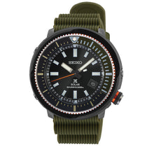 Load image into Gallery viewer, Seiko Prospex Solar Diver's Olive Green Silicone Strap Watch SNE547P1 (LOCAL BUYERS ONLY)