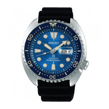 Load image into Gallery viewer, Seiko Prospex (Japan Made) Diver Scuba Save the Ocean Special Edition Black Silicon Strap Watch SBDY047 SBDY047J