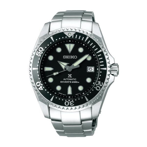 [JDM] Seiko Prospex (Japan Made) Diver Scuba Automatic Black Silicon Strap Watch SBDC029 SBDC029J | Watchspree