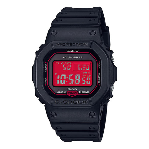 Casio G-Shock DW-5600 Lineup Special Color Models Black Resin Band Watch  GWB5600AR-1D GW-B5600AR-1 GW-B5600AR-1