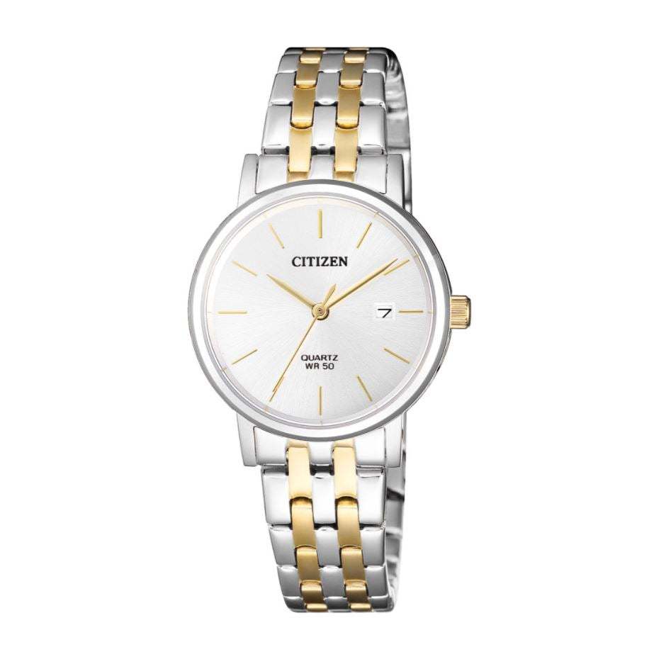 Citizen Ladies' Quartz Two Tone Stainless Steel Watch EU6094-53A