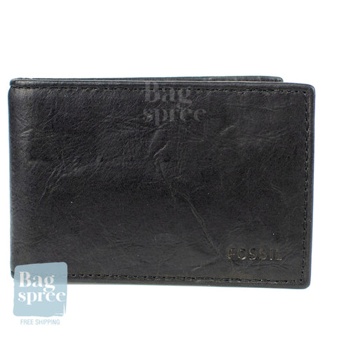Fossil Men's Leather Wallet Black ML3857001