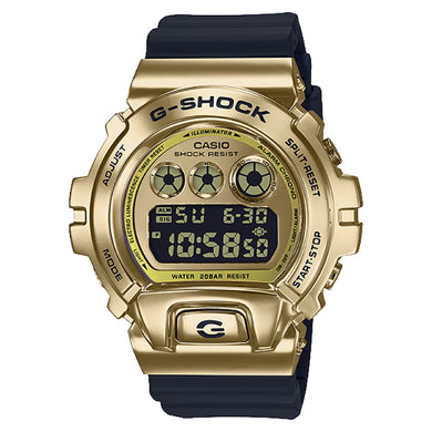 Casio G-Shock Standard Digital Metal-Covered Bezel Black Resin Band Watch GM6900G-9D GM-6900G-9D GM-6900G-9
