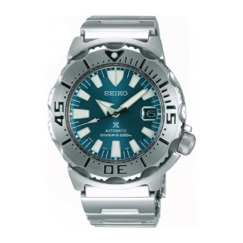 [JDM] Seiko Prospex (Japan Made) Air Diver's Scuba Silver Stainless Steel Band Watch SZSC005 SZSC005J | Watchspree
