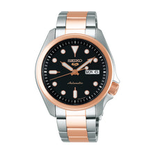 Load image into Gallery viewer, Seiko 5 Sports Automatic Two-tone Stainless Steel Band Watch SRPE58K1