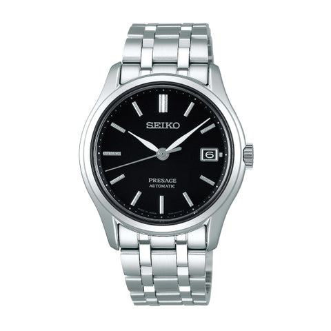 Seiko Presage (Japan Made) Automatic Silver Stainless Steel Band Watch SRPD99J1 | Watchspree