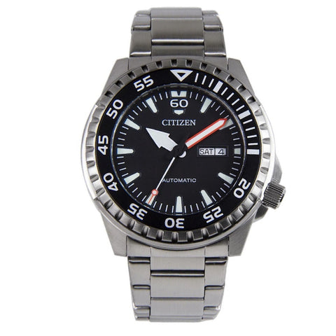Citizen Automatic Stainless Steel Band Watch NH8388-81E
