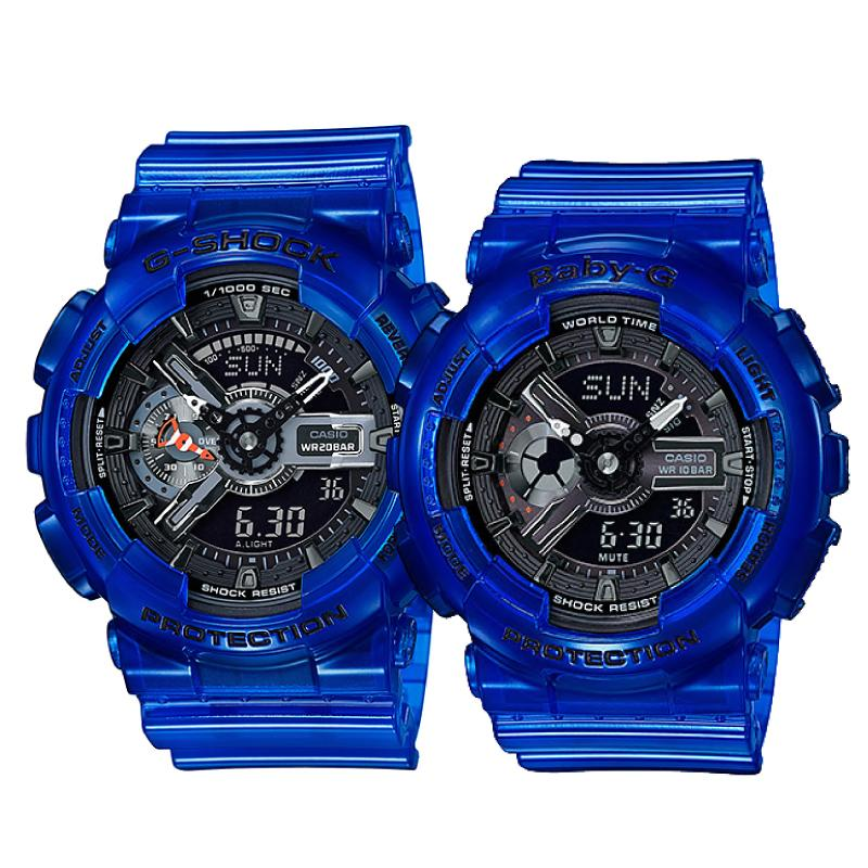 Casio G-Shock & Baby-G Couple Watches BA110CR-2A / GA110CR-2A