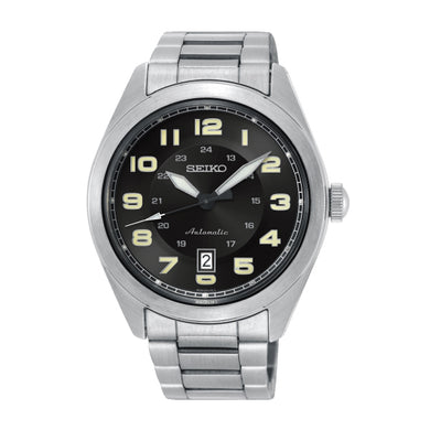 Seiko Men's Automatic Silver Stainless Steel Band Watch SRPC85K1