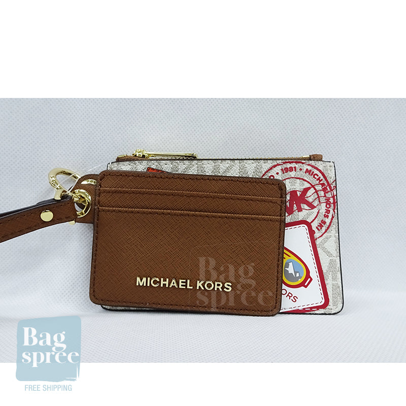 Michael Kors Giftables Small Card Case Duo White 35H9GPUD0B VANILLA MLT