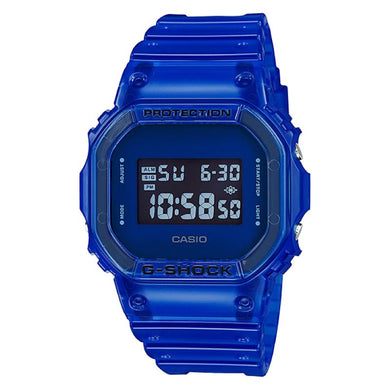Casio G-Shock DW-5600 Lineup Special Color Models Blue Semi-Transparent Resin Band Watch DW5600SB-2D DW-5600SB-2D DW-5600SB-2 [NA-SB]