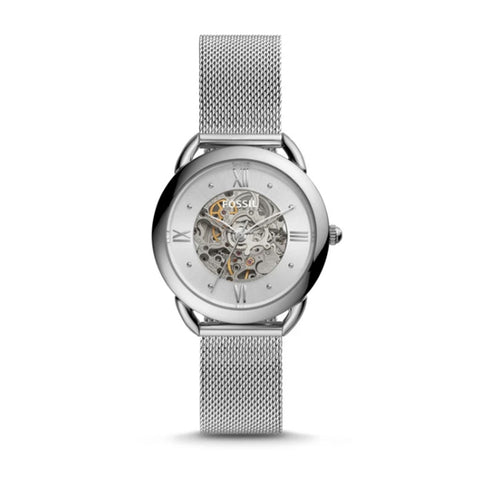 Fossil Ladies' Tailor Mechanical Stainless Steel Watch ME3166