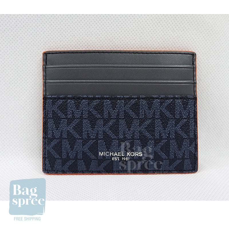 Michael Kors Cooper Tall Card Case Orange 36H9LCOD2U ADM/BR ORG