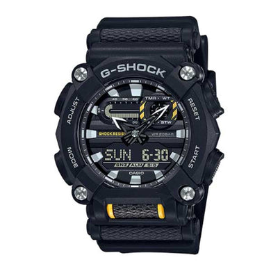 Casio G-Shock GA-900 Lineup Black Resin Band Watch GA900-1A GA-900-1A