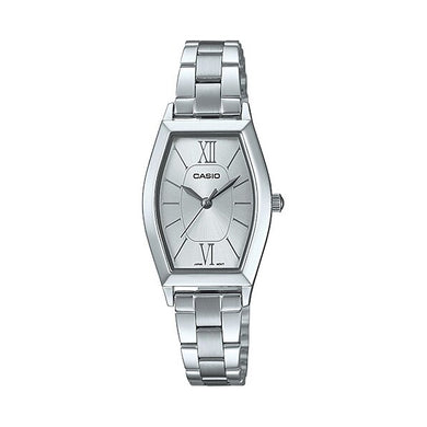 Casio Ladies' Analog Stainless Steel Band Watch LTPE167D-7A LTP-E167D-7A