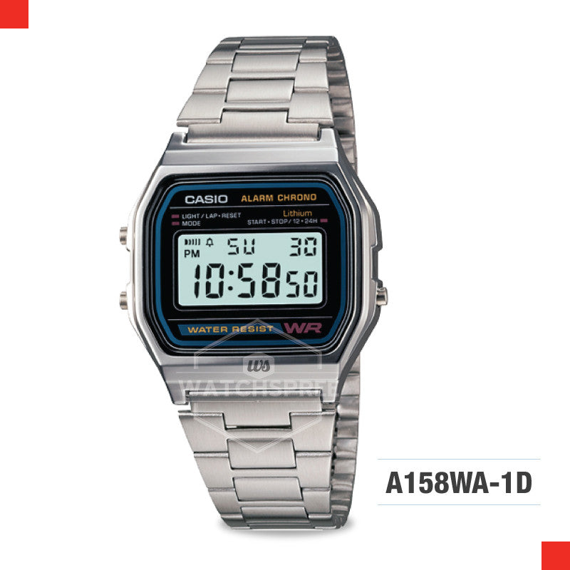 Casio Vintage Watch A158WA-1D