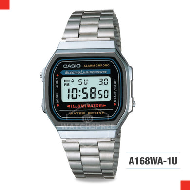 Casio Vintage Watch A168WA-1U