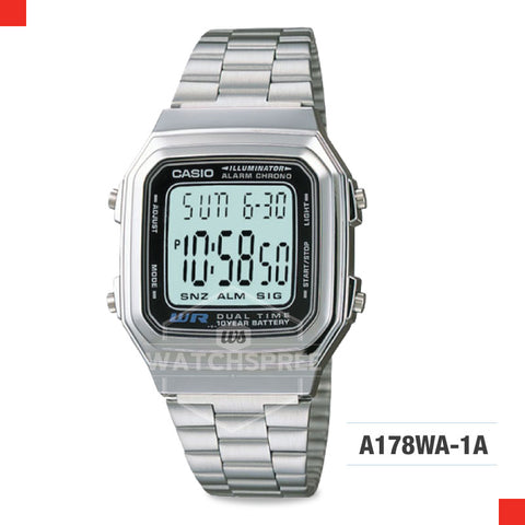 Casio Vintage Watch A178WA-1A