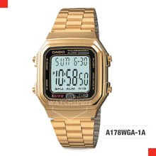 Load image into Gallery viewer, Casio Vintage Watch A178WGA-1A