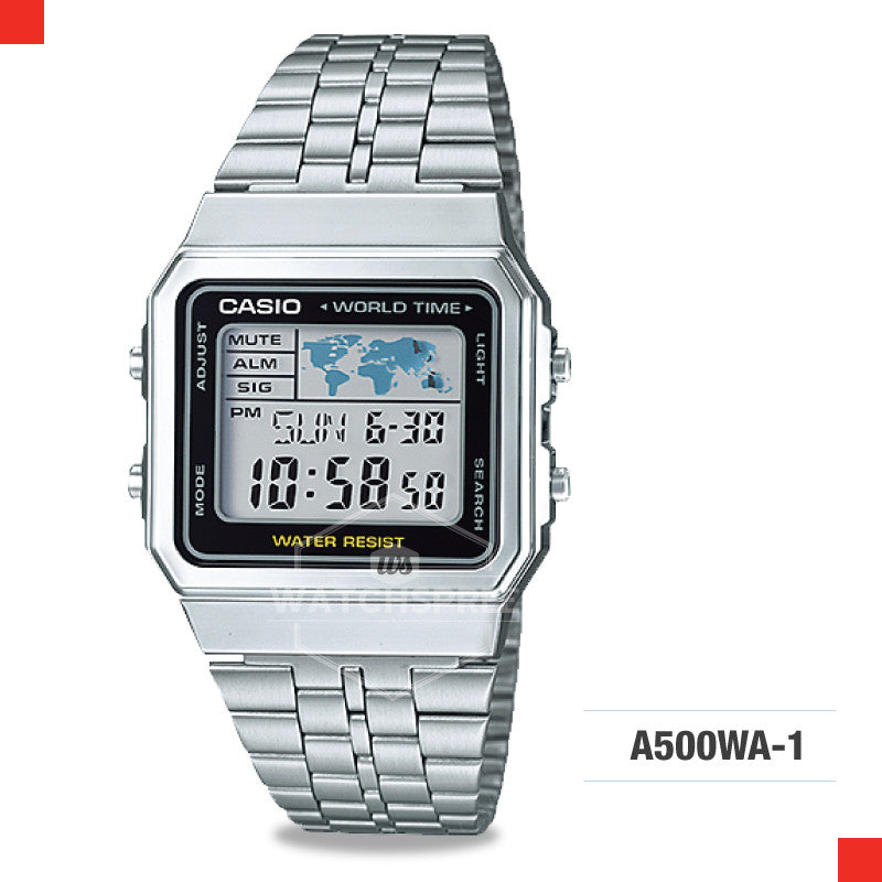 Casio Vintage Watch A500WA-1D