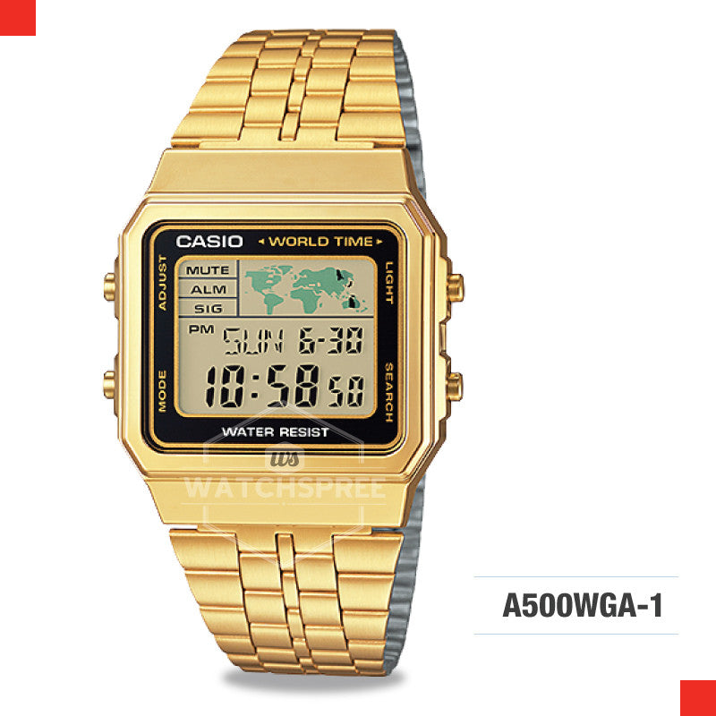 Casio Vintage Watch A500WGA-1D