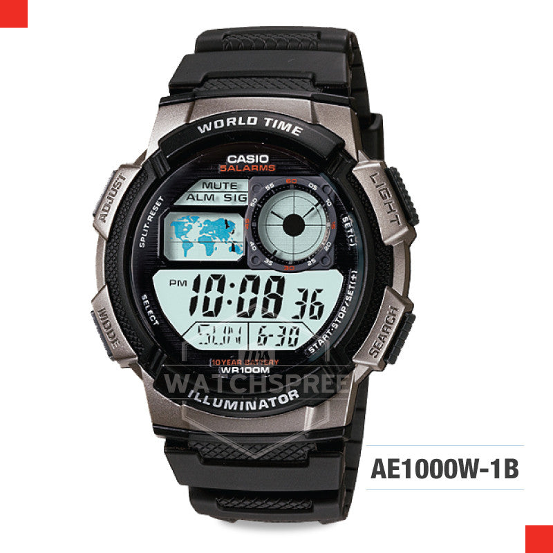 Casio Sports Watch AE1000W-1B