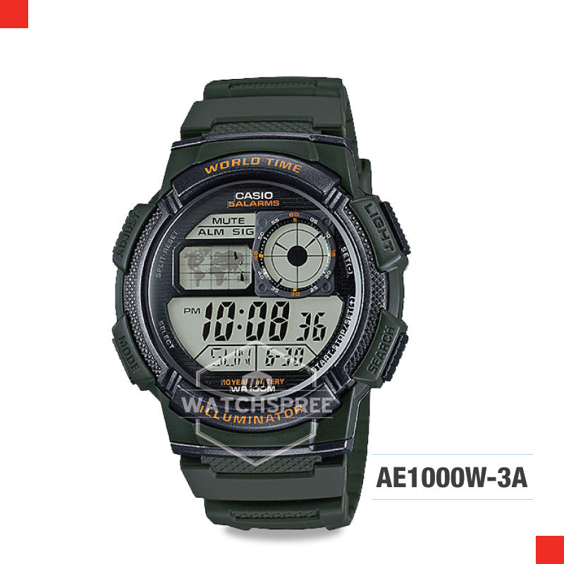 Casio Sports Watch AE1000W-3A