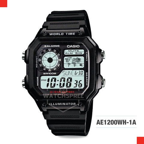 Casio Sports Watch AE1200WH-1A