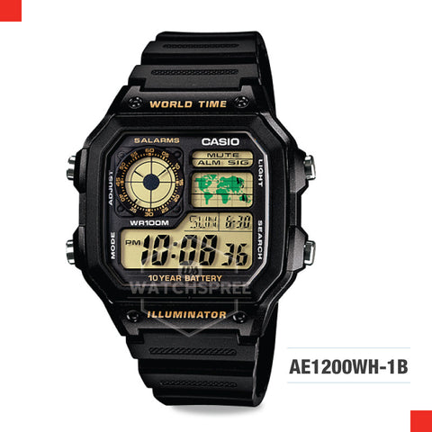 Casio Sports Watch AE1200WH-1B