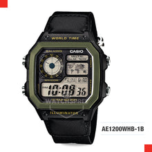 Load image into Gallery viewer, Casio Sports Watch AE1200WHB-1B