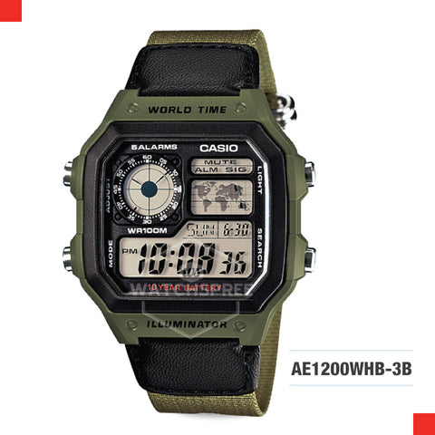 Casio Sports Watch AE1200WHB-3B
