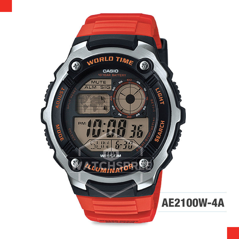 Casio Sports Watch AE2100W-4A