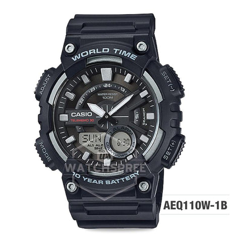 Casio Standard Analog Digital Watch AEQ110W-1B