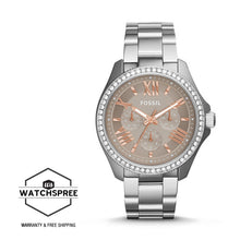 Load image into Gallery viewer, Fossil Ladies Cecile Multifunction Stainless Steel Watch AM4628