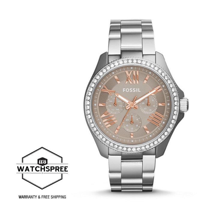 Fossil Ladies Cecile Multifunction Stainless Steel Watch AM4628