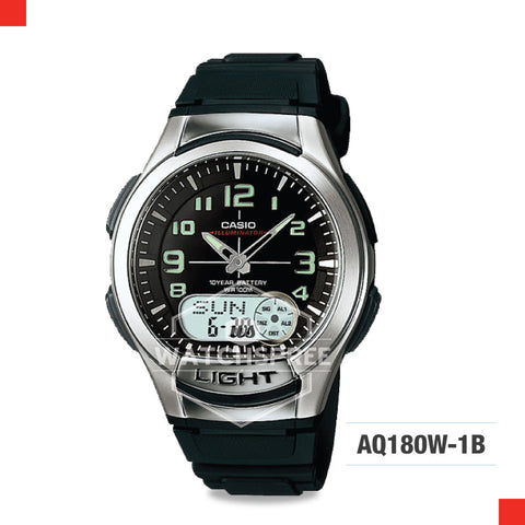 Casio Sports Watch AQ180W-1B