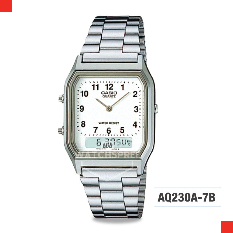 Casio Vintage Watch AQ230A-7B