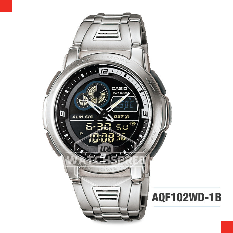 Casio Sports Watch AQF102WD-1B