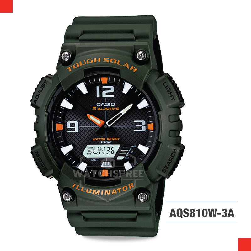 Casio Sports Watch AQS810W-3A