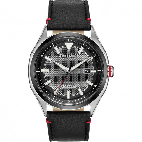 Citizen WDR Eco-Drive Black Dial 41 mm Men's Watch AW1148-09E