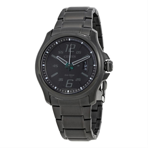 Citizen HTM Eco-Drive Black Dial 43 mm Men's Watch AW1354-82E