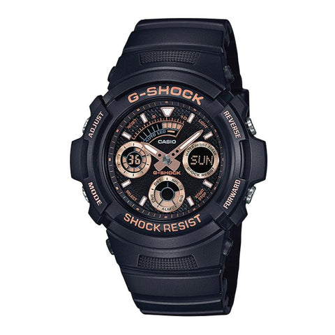 Casio G-Shock Special Color Models Black Resin Band Watch AW591GBX-1A4 AW-591GBX-1A4