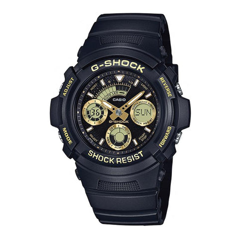 Casio G-Shock Special Color Models Black Resin Band Watch AW591GBX-1A9 AW-591GBX-1A9