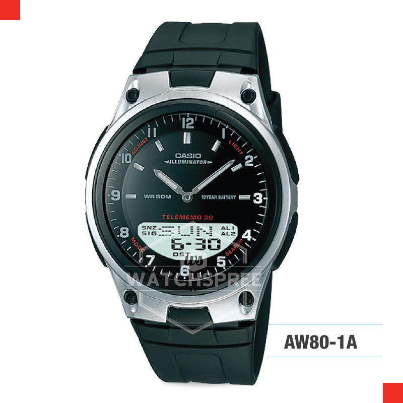 Casio Sports Watch AW80-1A