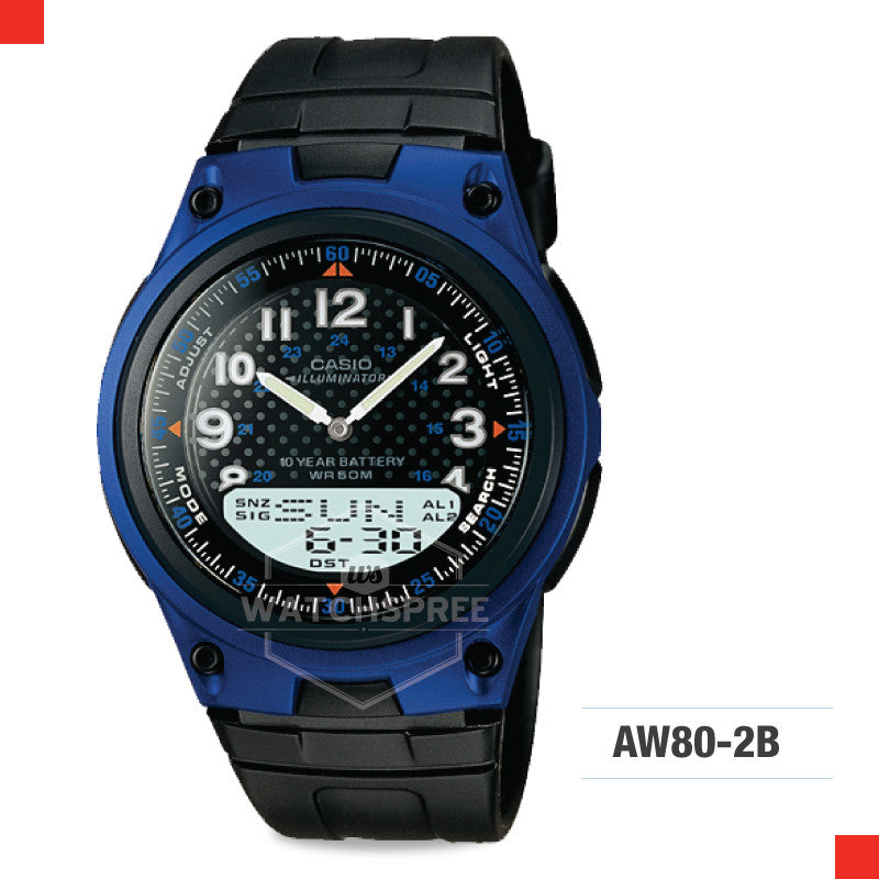 Casio Sports Watch AW80-2B