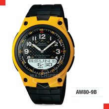 Load image into Gallery viewer, Casio Sports Watch AW80-9B