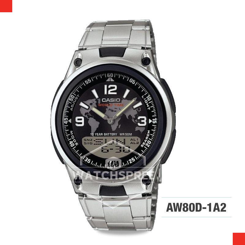 Casio Sports Watch AW80D-1A2