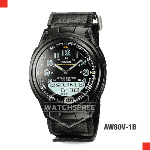 Casio Sports Watch AW80V-1B