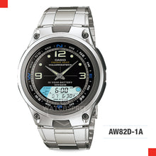 Load image into Gallery viewer, Casio Sports Watch AW82D-1A