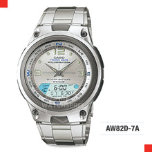 Load image into Gallery viewer, Casio Sports Watch AW82D-7A